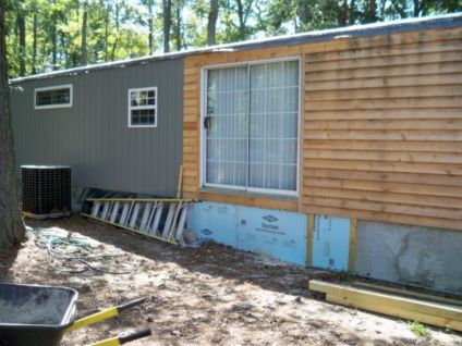 Exterior paint color ideas for mobile homes 35