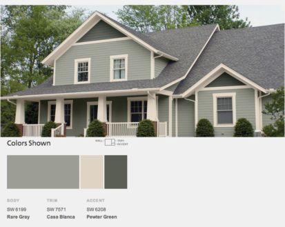 40 Exterior Paint Schemes For Bungalows - Round Decor