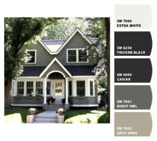 Exterior paint schemes for bungalows 39