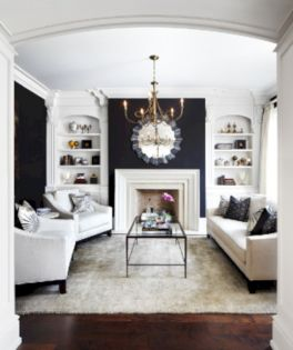 Furniture placement ideas with fireplace 10