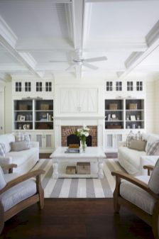 Furniture placement ideas with fireplace 56