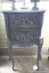 Gray shabby chic furniture 01