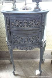Gray shabby chic furniture 01