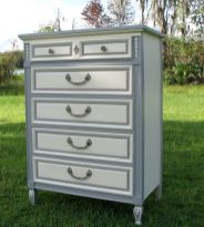 Gray shabby chic furniture 08