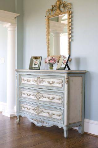 Gray shabby chic furniture 12