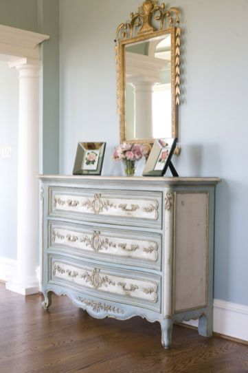 Gray shabby chic furniture 12