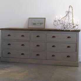 Gray shabby chic furniture 14