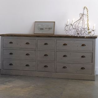 Gray shabby chic furniture 14