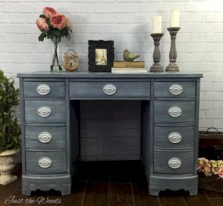 Gray shabby chic furniture 15