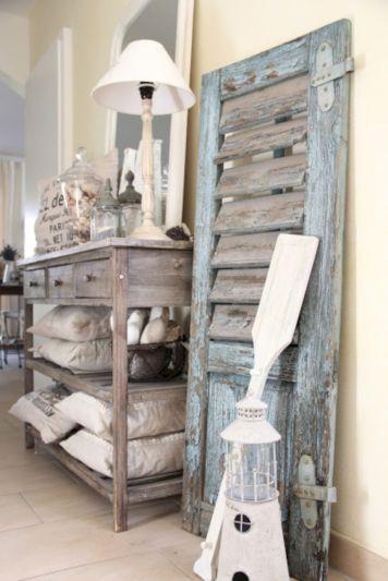 Gray shabby chic furniture 16