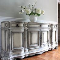 Gray shabby chic furniture 17