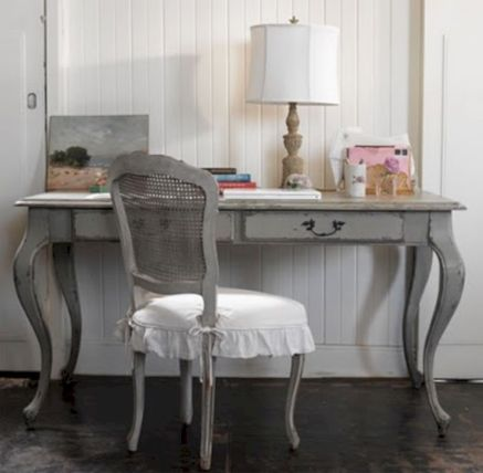 Gray shabby chic furniture 28