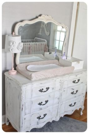 Gray shabby chic furniture 29