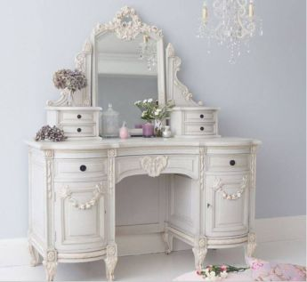 Gray shabby chic furniture 35