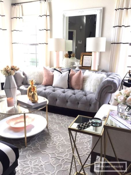 Incredible teal and silver living room design ideas 24