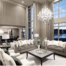 Incredible teal and silver living room design ideas 30