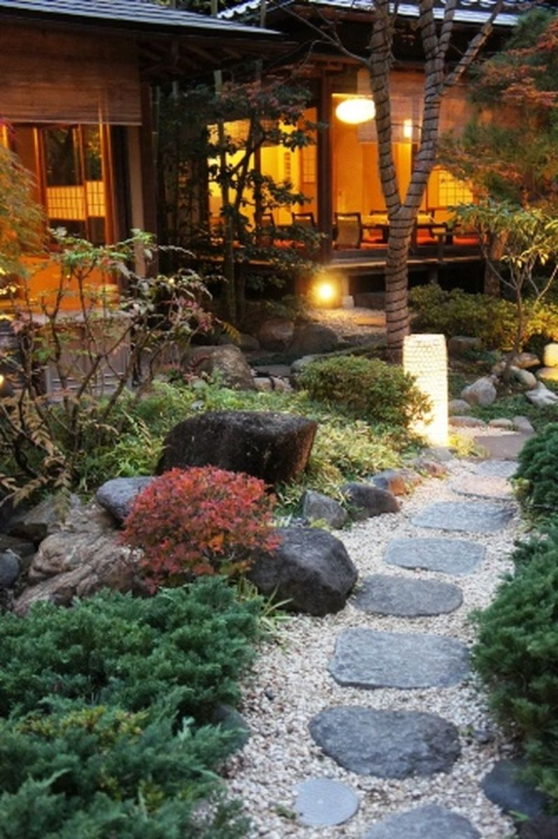 Inspiring small japanese garden design ideas 18