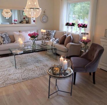 Living room ideas for an apartment 75