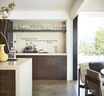 Modern cream painted kitchen cabinets ideas 61