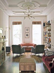 Narrow living room furniture 08