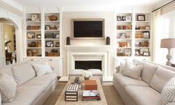 Narrow living room furniture 17