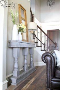 Narrow living room furniture 27