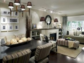 Narrow living room furniture 33