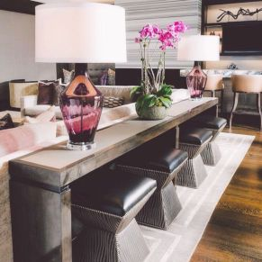 Narrow living room furniture 34