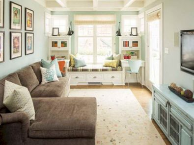 Narrow living room furniture 52