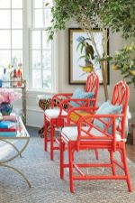 Painted faux bamboo furniture design 12
