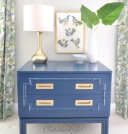 Painted faux bamboo furniture design 21