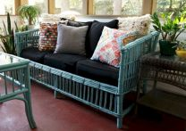 Painted faux bamboo furniture design 34
