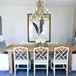 Painted faux bamboo furniture design 39