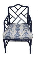 Painted faux bamboo furniture design 44