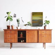 Painted mid century modern furniture 03