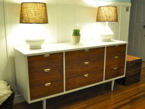 Painted mid century modern furniture 25