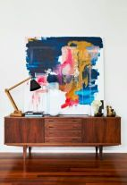 Painted mid century modern furniture 28