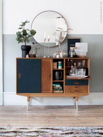Painted mid century modern furniture 44
