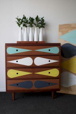 Painted mid century modern furniture 58