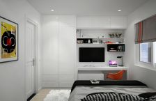 Simple living room design ideas with tv 03