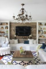 Simple living room design ideas with tv 06