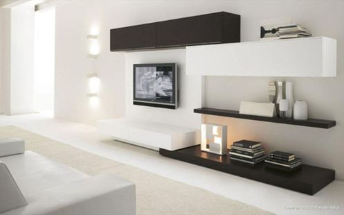 Simple living room design ideas with tv 49