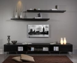 Simple living room design ideas with tv 54