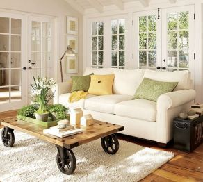 Simple and comfortable living room ideas 42