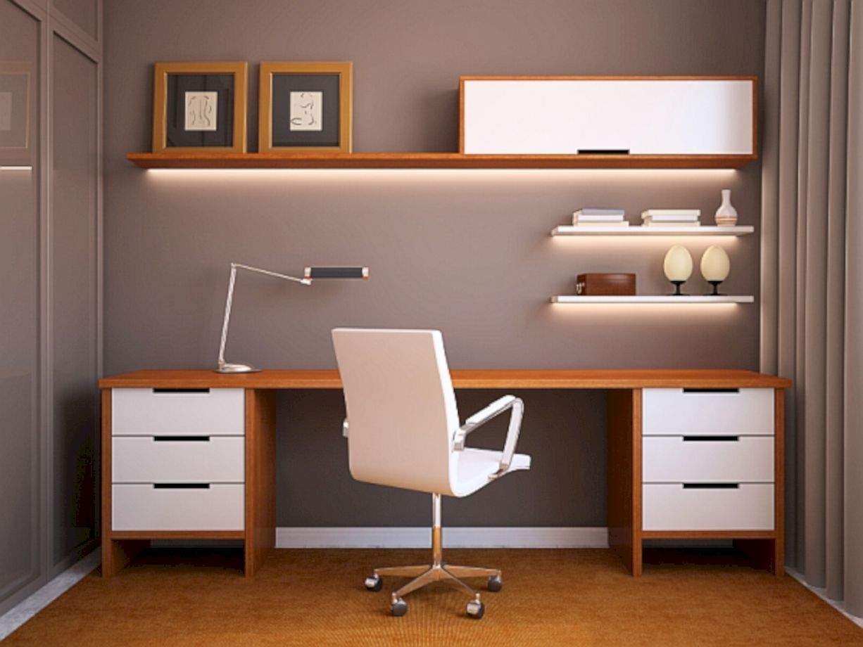 60 Adorable Small Office Furniture Ideas