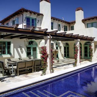 Spanish style exterior paint colors 11