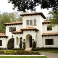 Spanish style exterior paint colors 14