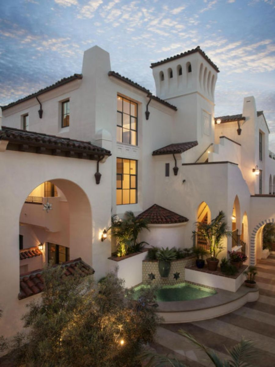 Spanish style exterior paint colors 21