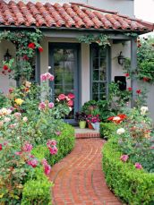 Spanish style exterior paint colors 26