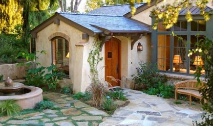 Spanish style exterior paint colors 35